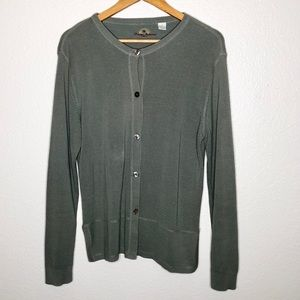 Tommy Bahama Silk Blend Button Front Cardigan